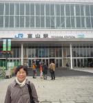 すっかり様変わりした富山駅