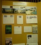 滑川市立博物館の疎開児童に関する展示物