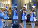 大井競馬場のトゥインクル嬢たちのファンファーレで光のイルミネーション点灯!
