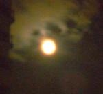 「月にむら雲」こんな言葉がすっと口をついて出てきました。