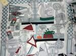 エルメス スカーフ 90×90cm 100%SILK