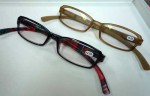 おしゃれな老眼鏡です。¥3600です